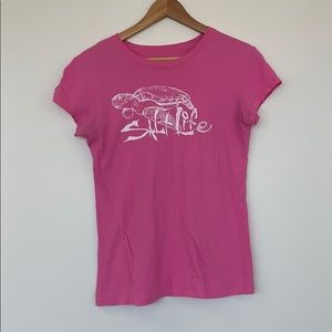 Salt life pink t- shirt